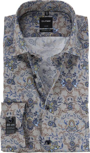 OLYMP Luxor MF Overhemd Bloem SL7