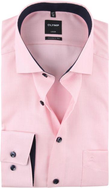 OLYMP Luxor MF Overhemd Roze