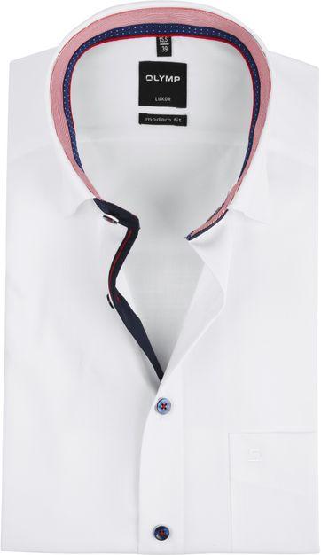 OLYMP Luxor MF Overhemd SS White