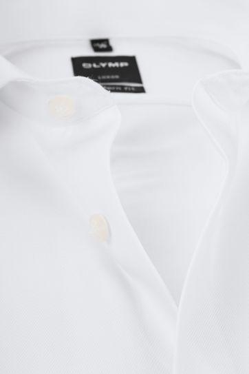 OLYMP Luxor MF Overhemd Twill Wit - Wit maat 40
