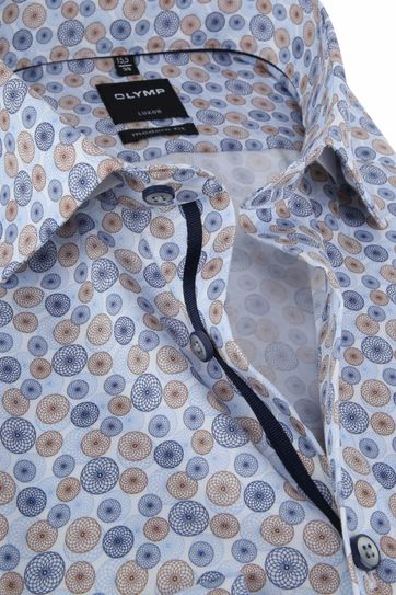 OLYMP Luxor MF Shirt Blue Circle