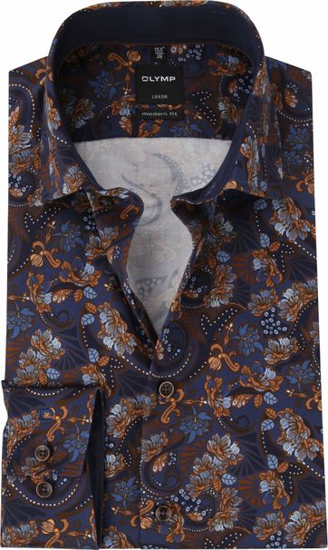 OLYMP Luxor MF Shirt Flowers