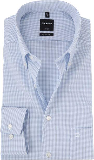 OLYMP Luxor MF Shirt Pane Blue