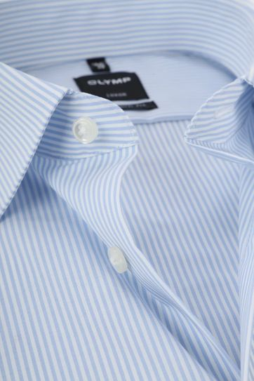 OLYMP Luxor MF Shirt Stripe Blue