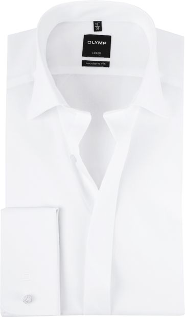 OLYMP Luxor MF Smokingshirt Wit