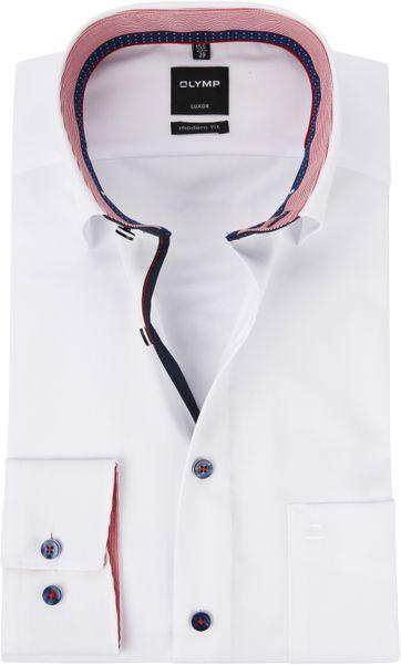 OLYMP Luxor MF White Shirt HBD