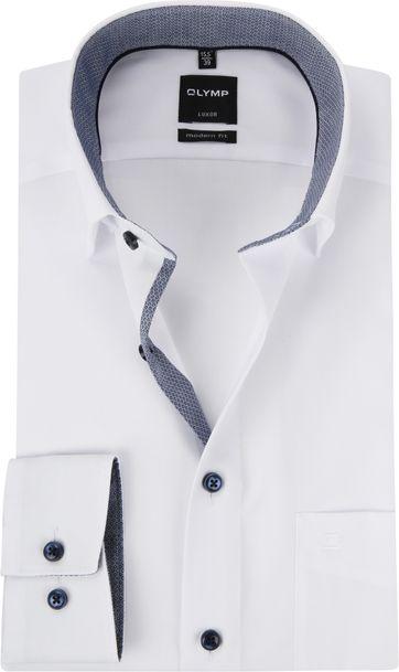 6f7aa41625d OLYMP Luxor MF Wit HBD Overhemd