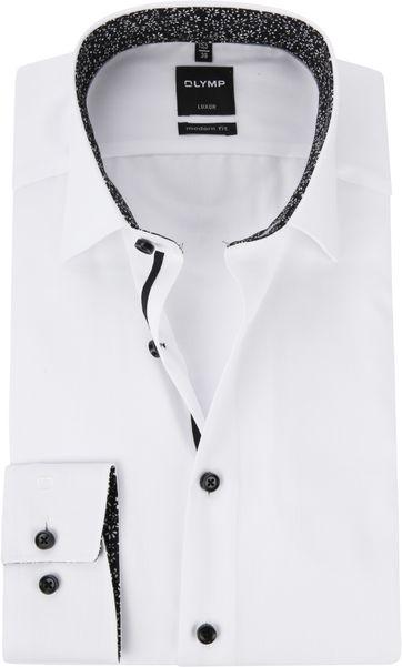 OLYMP Luxor MF Wit Overhemd