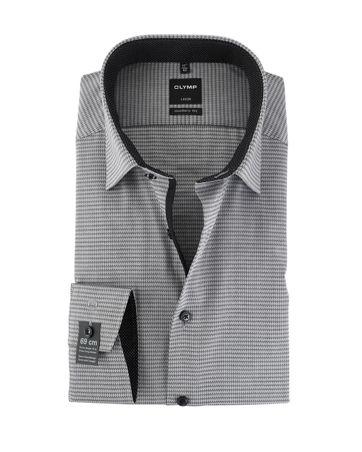 OLYMP Luxor Non Iron Overhemd Modern Fit Grijs SL7