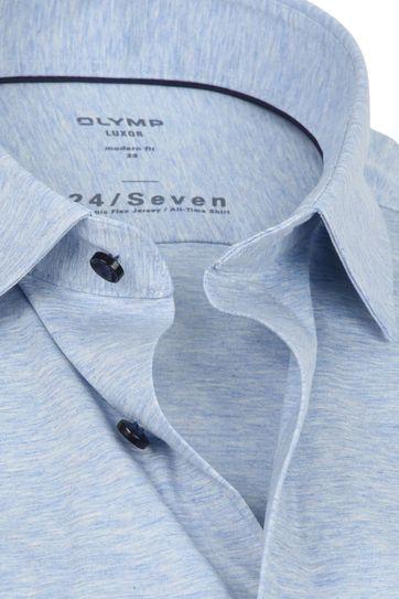 OLYMP Luxor Overhemd 24/Seven Blauw