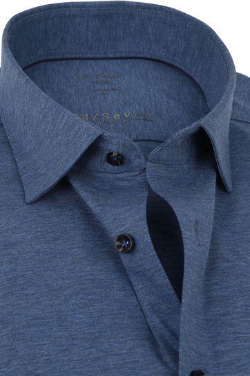 OLYMP Luxor Overhemd 24/Seven Donkerblauw