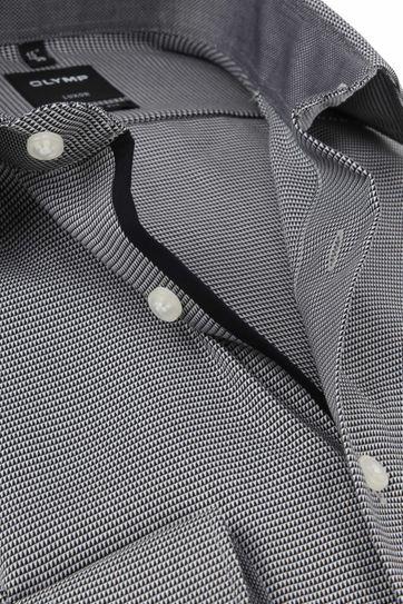 OLYMP Luxor Overhemd MF Antraciet SL7