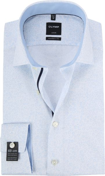 OLYMP Luxor Overhemd MF Bloem SL7