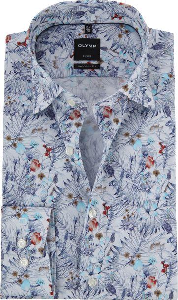 OLYMP Luxor Overhemd MF Bloemen