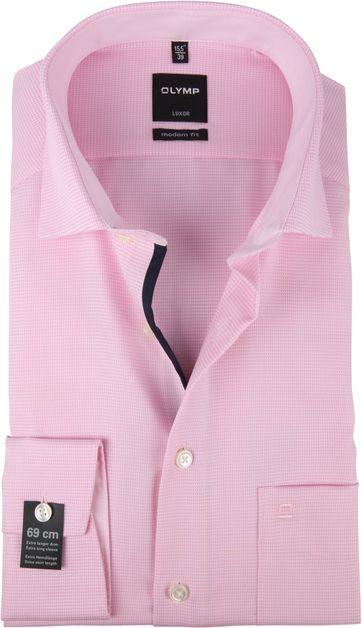OLYMP Luxor Overhemd MF Roze SL7