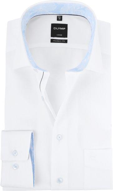 OLYMP Luxor Overhemd MF Wit