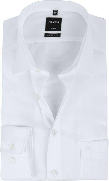 OLYMP Luxor Overhemd Slim Line White Herring