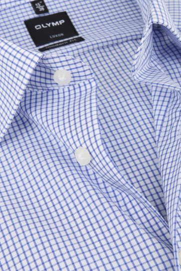 Olymp Luxor Shirt Blue Check