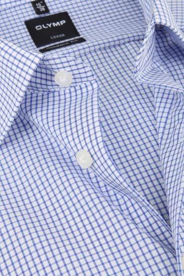 Olymp Luxor Shirt Blue Check
