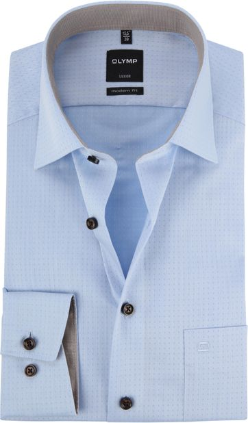 OLYMP Luxor Shirt Blue MF