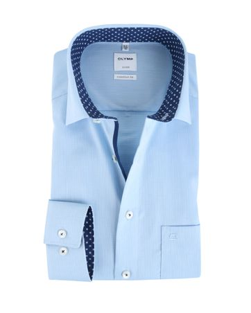 Olymp Luxor Shirt Comfort Fit Blauw