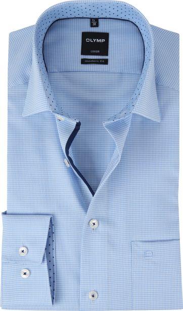OLYMP Luxor Shirt MF Blue White