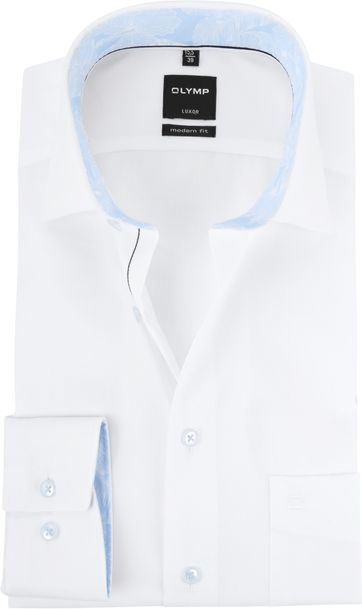 OLYMP Luxor Shirt MF White