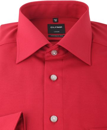 Olymp Luxor Shirt Modern Fit Red
