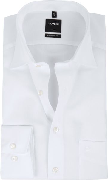 Olymp Luxor Shirt Modern Fit White