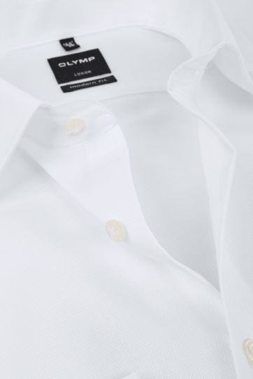 OLYMP Luxor Shirt Modern Fit Wit