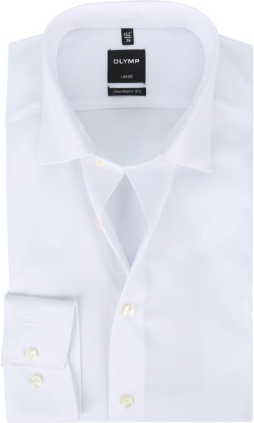 OLYMP Luxor Shirt Plain White
