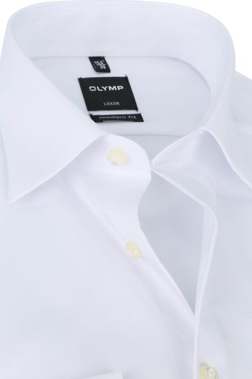 OLYMP Luxor Shirt Plain White