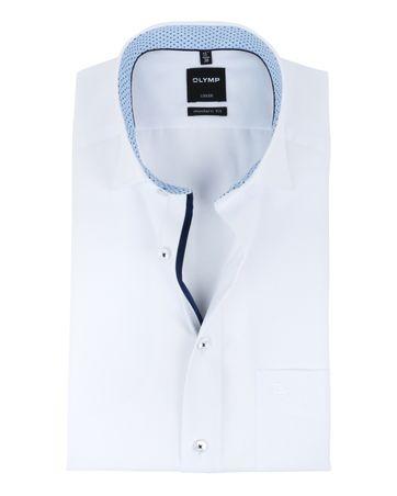 OLYMP Luxor Short Sleeve White