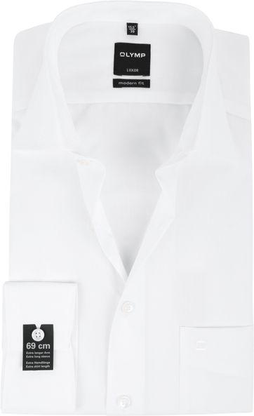 OLYMP Luxor SL7 Hemd Modern Fit Wit