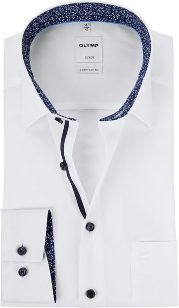 OLYMP Luxor White Shirt MF