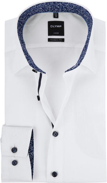 75b577aa752 OLYMP Luxor Wit CF Overhemd