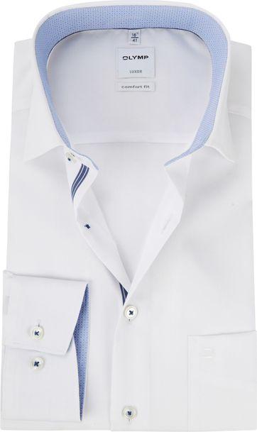 OLYMP Luxor Wit Overhemd CF