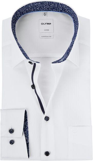 4daa528df4c OLYMP Luxor Wit Overhemd MF