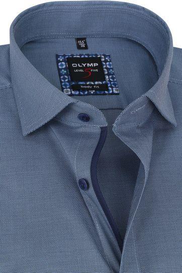 OLYMP Lvl 5 Extra LS Hemd 2108 Blauw