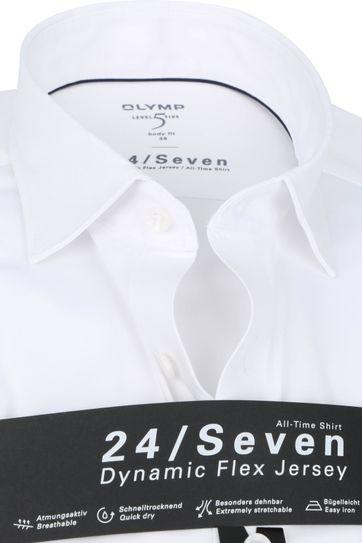 OLYMP Lvl 5 Extra LS Hemd 24/Seven Weis