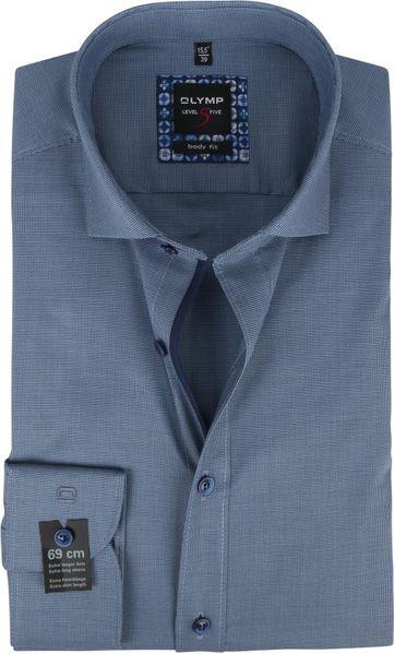 OLYMP Lvl 5 Extra LS Shirt 2108 Blue