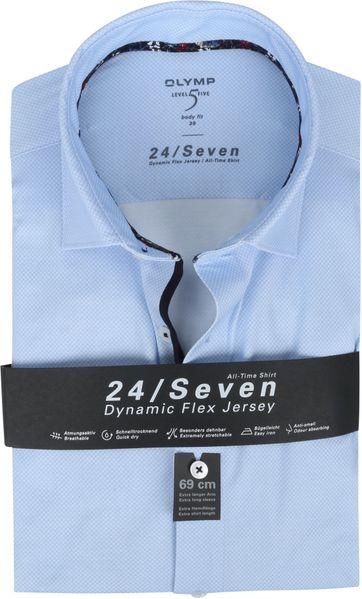 OLYMP Lvl 5 Extra LS Shirt 24/Seven Blue