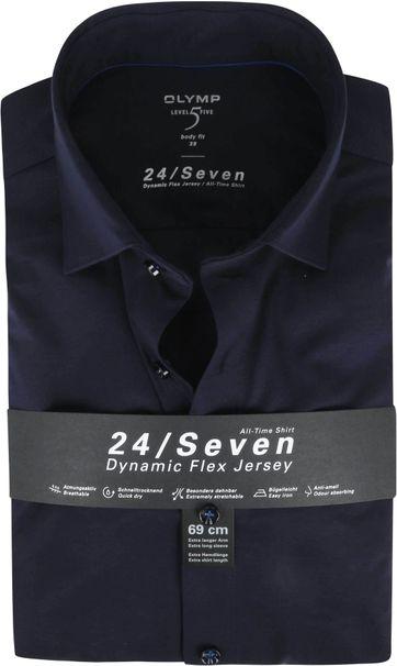 OLYMP Lvl 5 Extra LS Shirt 24/Seven Dark Blue