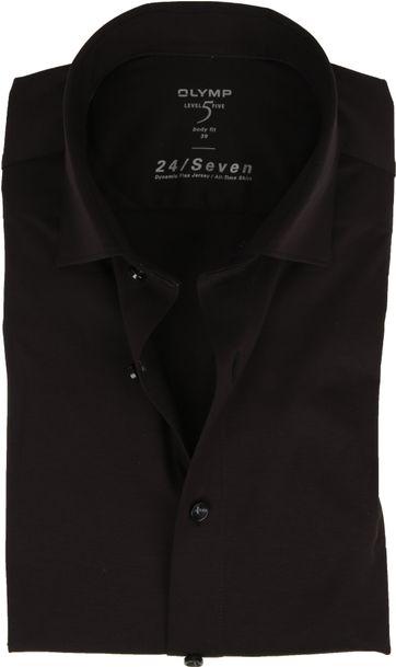 OLYMP Lvl 5 Hemd 24/Seven Schwarz