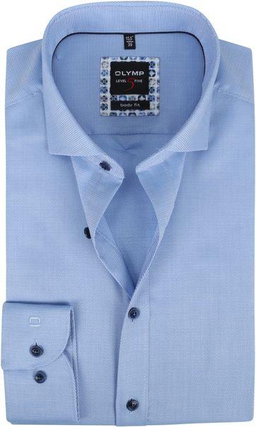 OLYMP Lvl 5 Overhemd 2074 Lichtblauw