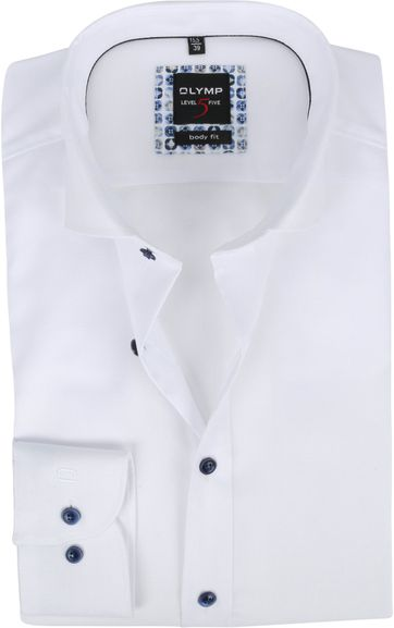 OLYMP Lvl 5 Overhemd 2074 Wit