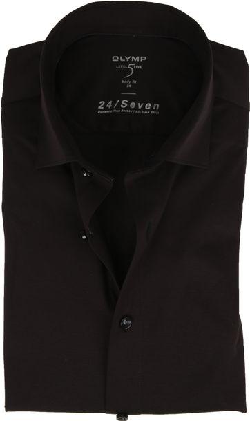OLYMP Lvl 5 Overhemd 24/Seven Zwart