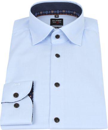 OLYMP Lvl 5 Overhemd Lichtblauw