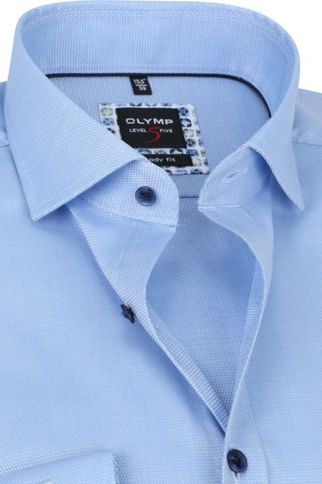 OLYMP Lvl 5 Shirt 2074 Light Blue
