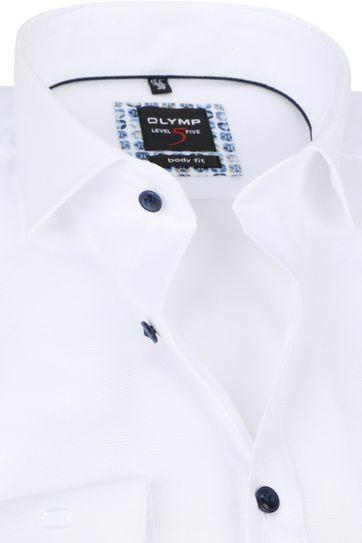 OLYMP Lvl 5 Shirt 2074 White